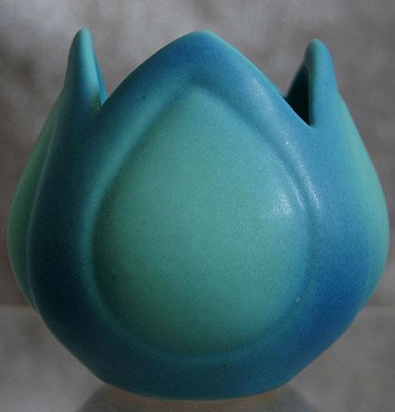 Van Briggle Pottery turquoise vase