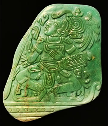 mayan-jade-carved with warrior motif