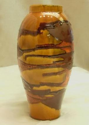 Haeger-ceramic-baluster vase