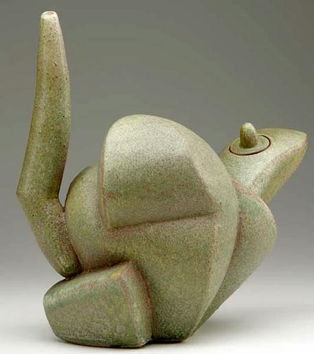 Stoneware teapot Chris Gustin