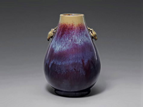 Flambe Glazed Zun Vase China