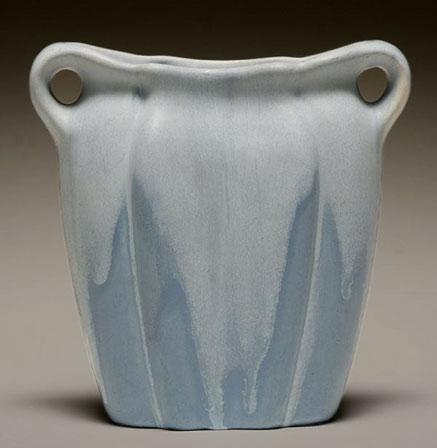 Muncie Matte Blue Vase