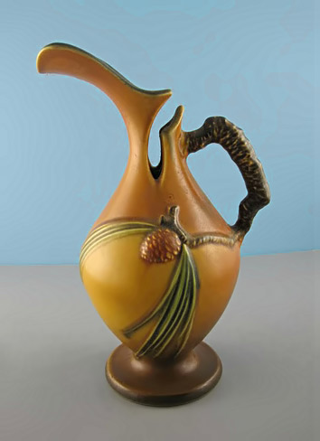 Roseville Pottery  - Pine Cone Vase