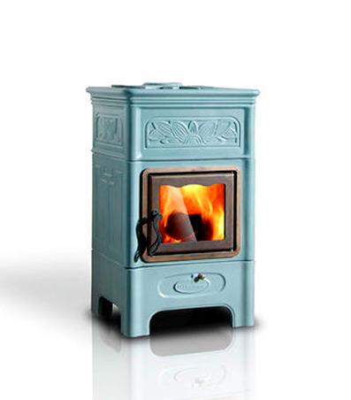 Ceramic wood burning stove 397x452 for Ardeco pellet
