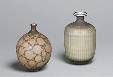 Harrison Macintosh pottery USA