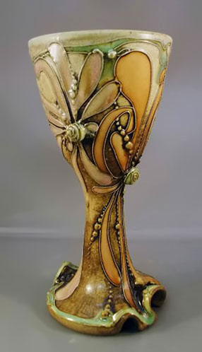 ceramic goblet by Carol Long