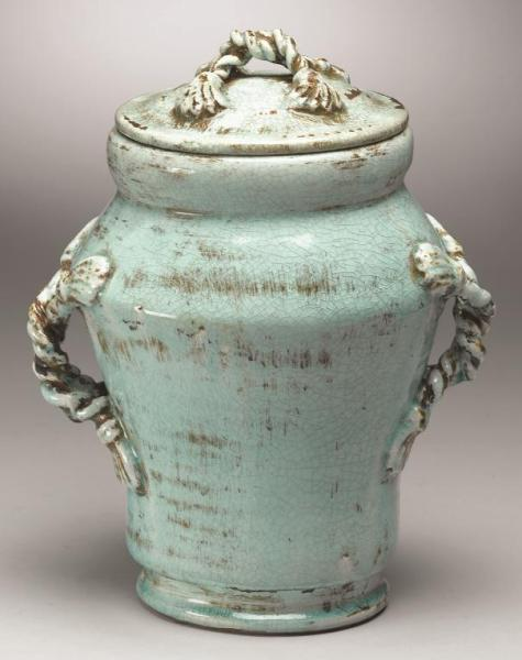 Tuscan-Style-Pottery-biscuit jar