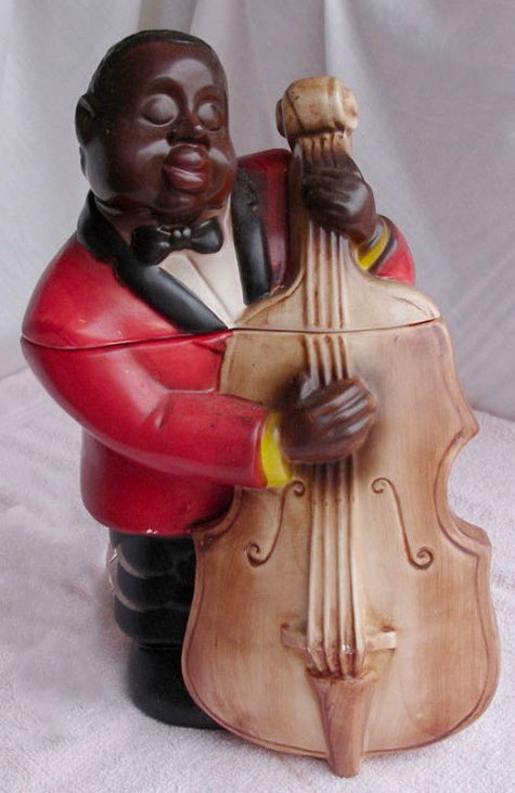 Black-Man-with-Bass-Cookie-Jar