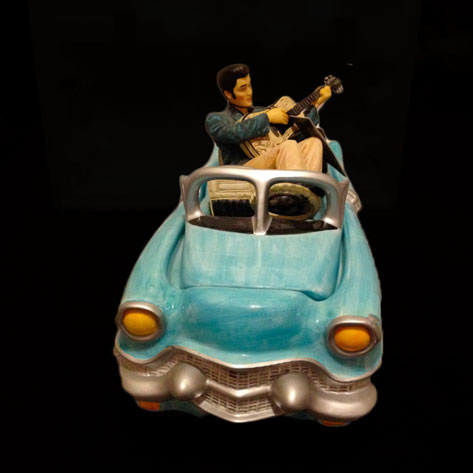 Elvis-Blue-Suede-shoes-cookie-Jar