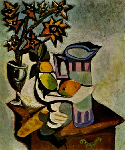 Abstract still life - Picasso