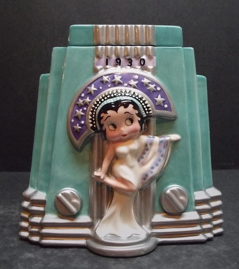 1930 Betty Boop cookie jar