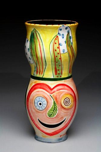 Amy Sabrina botanical decor vase