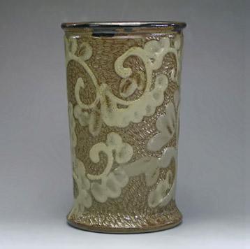 Porcelain Cup - arabesque pattern - Samsung Miyagi