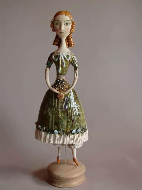 'Girl with flowers' - Elya Yalonetskaya