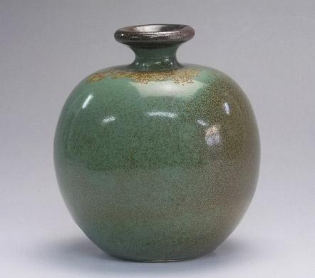 Green glaze bottle - Samsung Miyagi