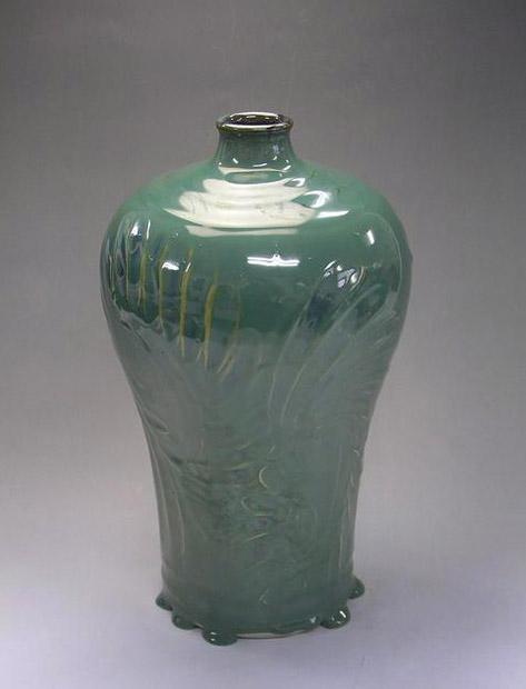 Jade green bottle - Samsung Miyagi