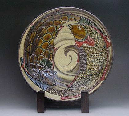 Japan fish design plate - Samsung Miyagi