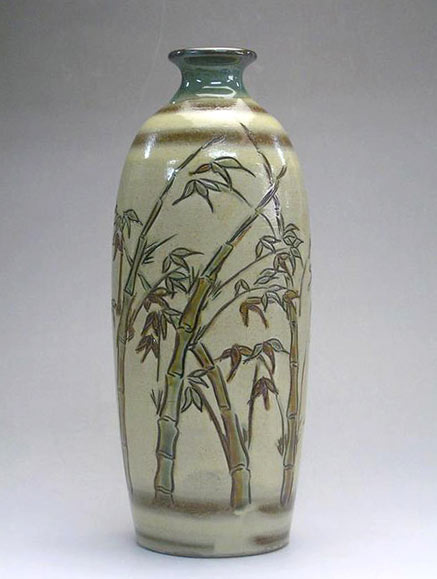 Hand painted Bamboo design - Samsung Miyagi