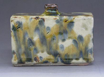 Ceramic bottle - Satoshi Miyagi