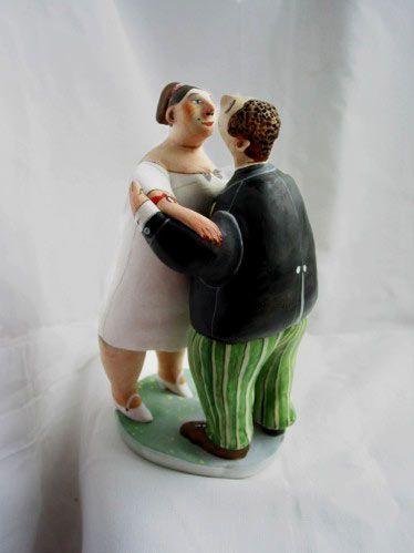 Dancing Couple - El Innocent Figurine of male and female couple dancing