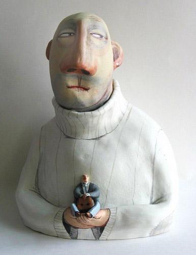 El Innocent ceramic art figurine