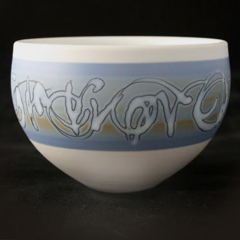 Ceramic bowl -Les Blakebrough
