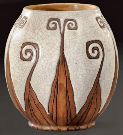Art Deco vase by Charles Catteau