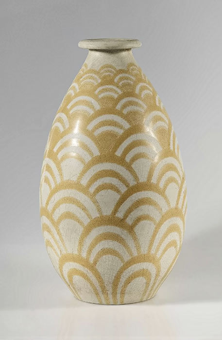 Egyptian Art Deco vase - Charles Catteau