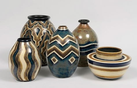Art Deco pottery by Charles Catteau