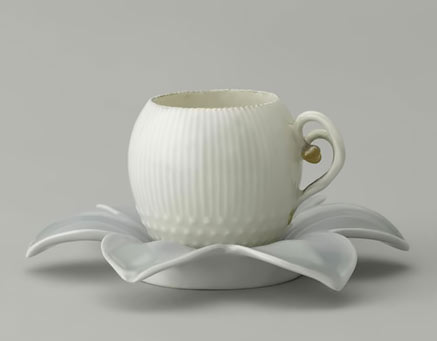 Limoges Rorstrand Ovoid Coffee Cup