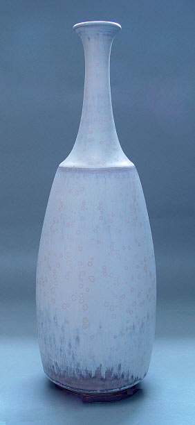Sven Hofverberg blue ceramic bottle