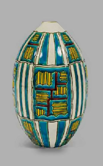 large ovoid vase by Charles Catteau