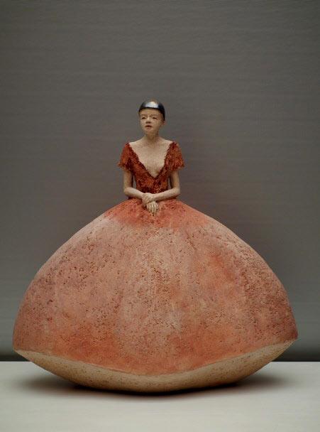 Carry Bakker Rinkens Allure ceramic sculpture