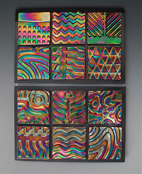 ceramic wall panel - Daniel Hawkins