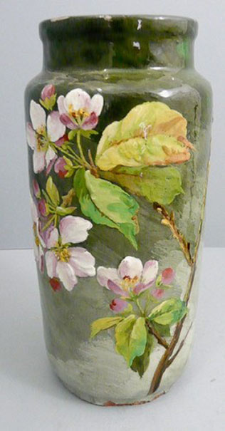 French Art pottey vase c.1890