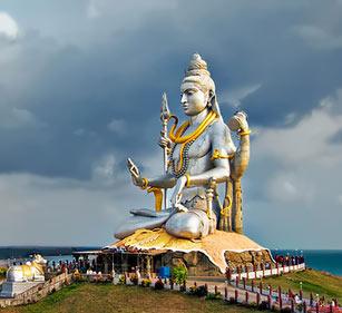 monumental Shiva statue