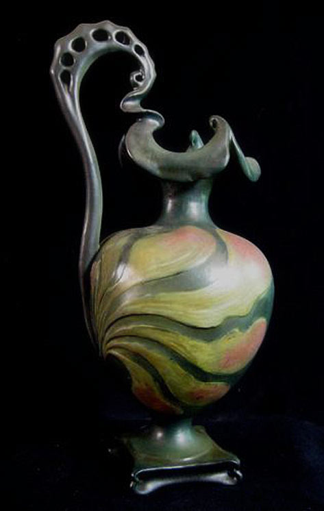 Amphora Pitcher Art nouveau