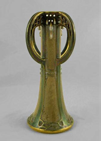 Paul Dachsel Art Nouveau Vase