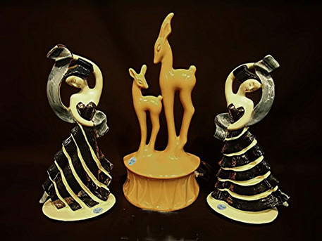 dance figurines by Hedi Schoop
