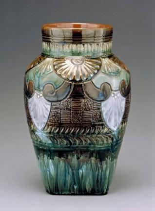 VaseLinthorpe-Pottery-;-Lin
