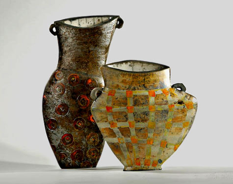 Ute Grossman-Illusions-2005 asymmetrical vases