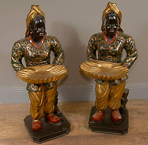 Italian-Venetian-Blackamoors-with-Shell-Tray-sculptures