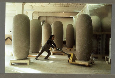 Jun Kaneko moving work