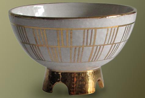 Midcentury Italian Pedestal Bowl