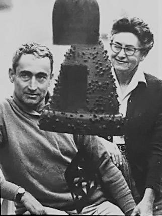 Otto and Gertrude Natzler USA