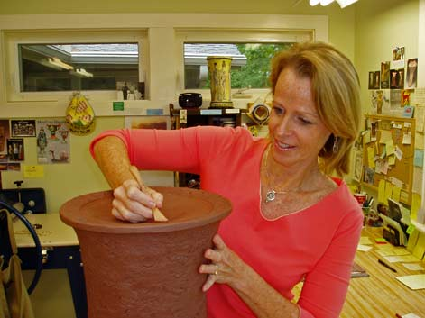 beth-tarkington-creating pottery