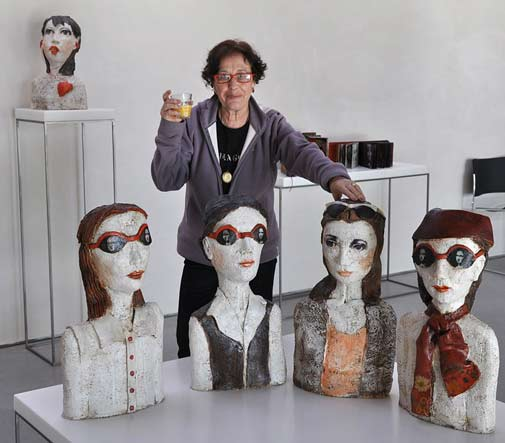 teresa-girones-ceramic sculptures
