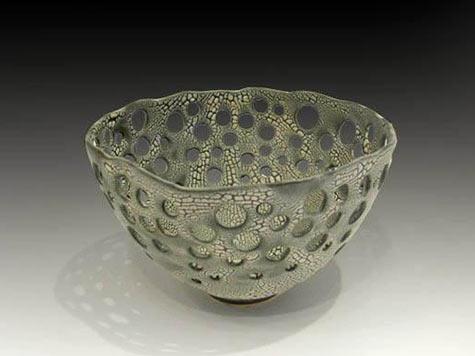 Pierced Lichen Bowl