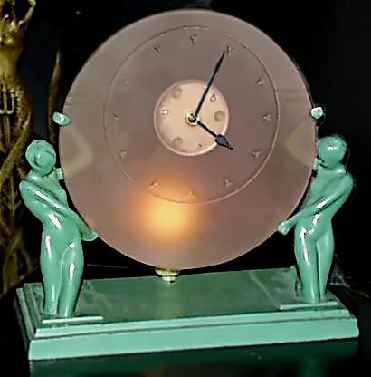 Frankart-clock-lamp
