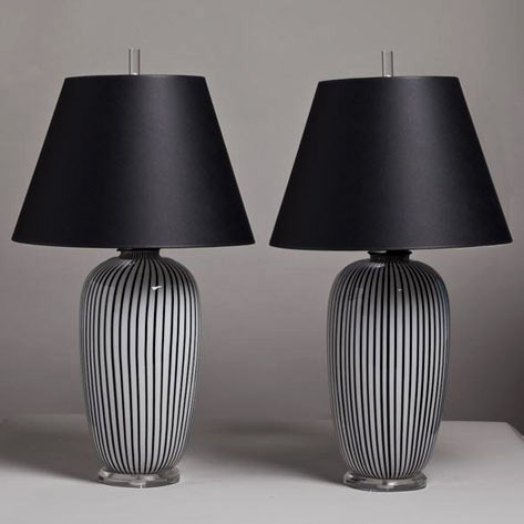 Black-and-White-Pinstripe-Munaro-lamps